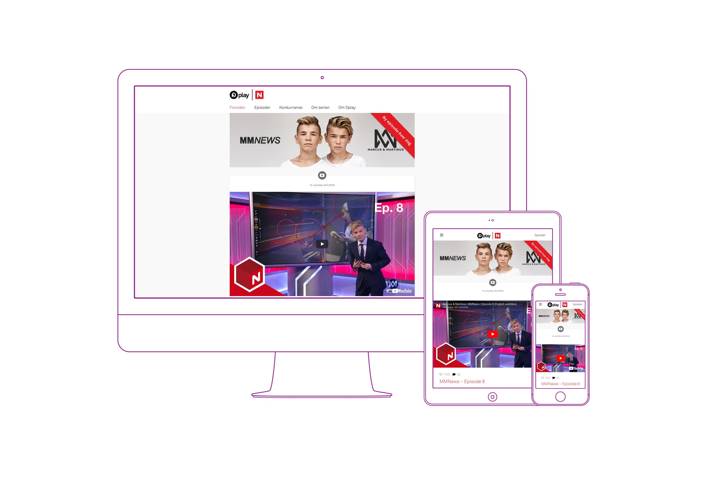 Marcus-Martinus responsive nettside