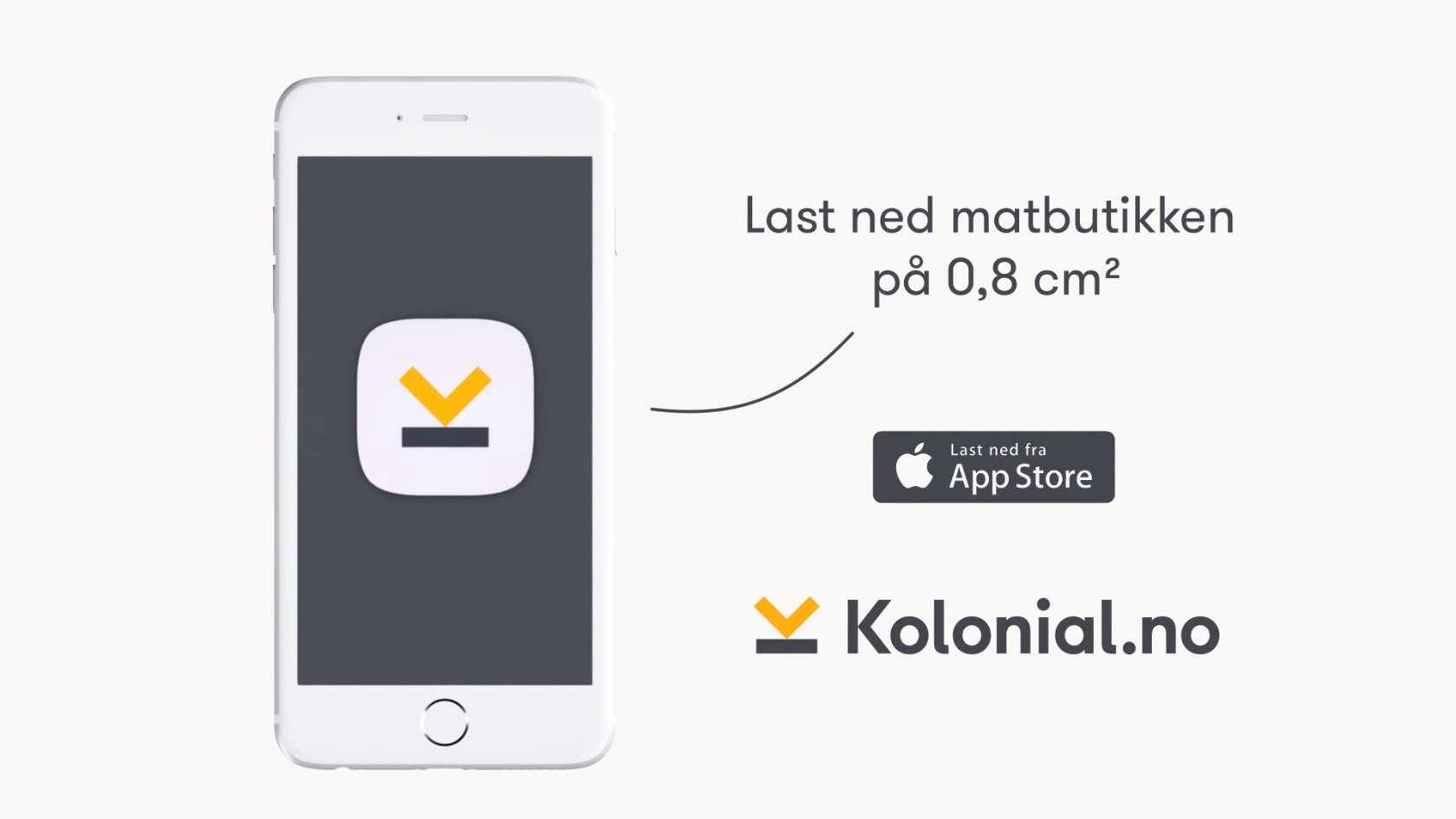 Kolonial.no i App Store!