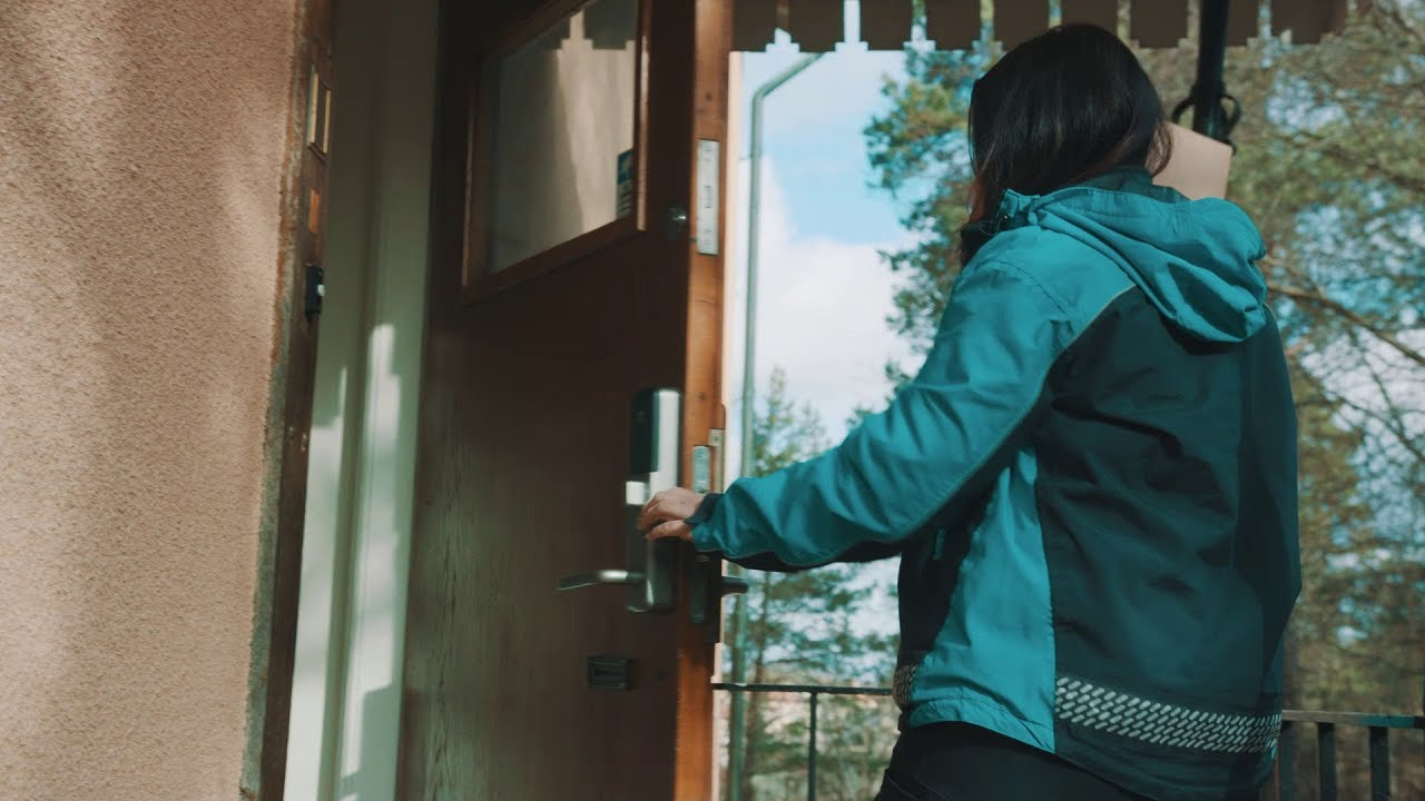 Deliveries on your doormat, even if you're out, thanks to a new service from ASSA ABLOY and PostNord